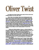How Is The Picture Of Childhood Portrayed In Oliver Twist  Gcse  How Suitably Does Charles Dickens Portray Societys Attitude Towards Under  Privileged Children In The  English Essay Book also Healthy Food Essays  Phd Proposal Service
