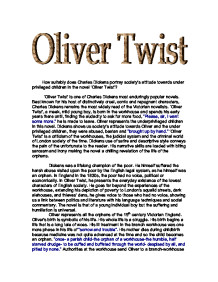 oliver twist book short summary