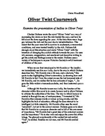 research papers on oliver twist
