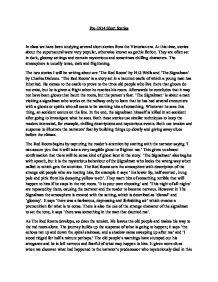 charles dickens the signalman essay