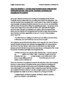 jane eyre chapter essay gcse english marked by teachers com jane eyre chapter 1 26