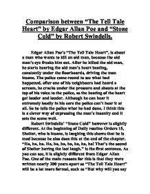 comparison between the tell tale heart by edgar allan poe and  page 1 zoom in