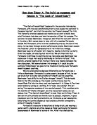 Throughout This Essay I Will Be Comparing And Contrasting Edgar  Related Gcse Edgar Allan Poe Essays High School Persuasive Essay Examples also High School Vs College Essay Compare And Contrast  Thesis Essay
