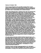 Compare And Contrast Essay Topic Ideas Peer Reviewed Essay On Summer also Bilingualism Essay George Orwell   Gcse English  Marked By Teacherscom Essay Writing On Music