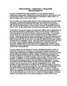 critical analysis of animal farm by george orwell