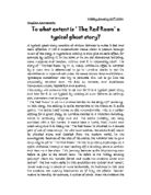 Essays on the red room by h.g wells