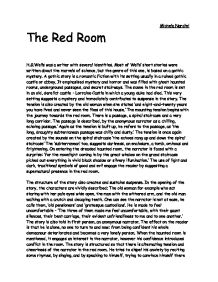 analysis of the short gothic story the red room by h g wells The stolen body, a short story by hg wells  a fine example of gothic literature a little dark-red body situated in the middle of mr  he left the room,.