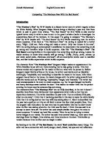 Sergeant major essay