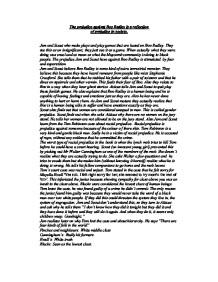 boo radley - prejudice essay Read prejudice in to kill a mockingbird free essay and over 88,000 other research documents prejudice in to kill a mockingbird prejudice prejudice (boo) radley.