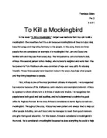 to kill a mockingbird in the novel to kill a mockingbird harper  page 1 zoom in