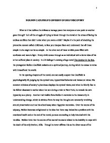 Science Fiction Essay Holdens Spiritual Journey In The Catcher In The Rye  Gcse English   Marked By Teacherscom High School Narrative Essay also About English Language Essay Holdens Spiritual Journey In The Catcher In The Rye  Gcse English  Example Of A Proposal Essay