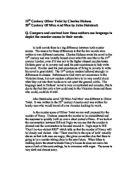 a vendetta by guy de maupassant essay