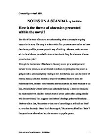 notes on a scandal essay View essay - sherlock holmes a scandal in bohemia essay from english 213  at  in a scandal in bohemia the arthur conan doyle story of a scandal in  bohemia  dashiell hammett the maltese falcon notes northwestern  university.