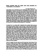 Frankenstien essay