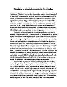 """the discourse of feminity promoted in cosmopolitan essay A feminine writing that conquers: elizabethan encounters with the new world kristen g brookes criticism, volume 48, number 2, spring 2006, pp 227-262 (article)  a feminine """"writing that conquers"""": elizabethan encounters with the new world  whose object is gendered feminine"""" 6 montrose's nuanced essay has made invaluable."""