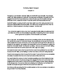 Wuthering Heights Passage 5 Essay Sample