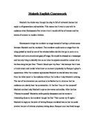 gcse our town essay gcse english marked by teachers com macbeth essay