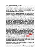 tess of the d urbervilles essay topics