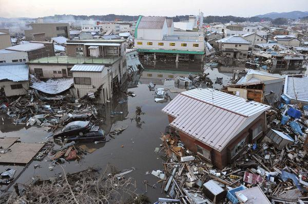 Cause and effect of the Japanese tsunami - GCSE Geography - Marked ...