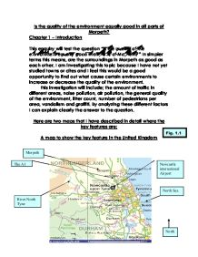 geography swanage coursework