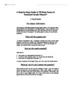 feudalism medieval history essay gcse history marked by  a guide to standard grade history essay writing