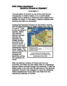 gcse history coursework dunkirk An article about the evacuation of around 350,000 british, french and belgian troops from dunkirk.