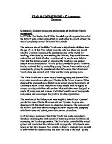explain the nature and purpose of the hitler youth movement page 1 zoom in