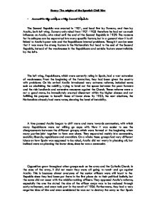 origins english civil war essay