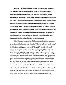 What Were The Fourteen Points And How Far Were That Implemented In  Wilsons Fourteen Points Became The Basis Of The Treaty  Library Essay In English also Custom Written Advantages  High School English Essay Topics