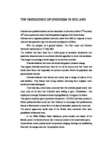 why did unionists oppose home rule in ireland