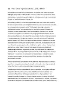 Representation in media essay introduction
