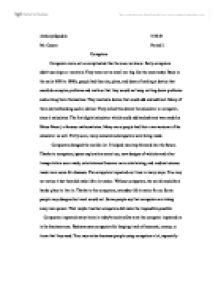 Expository Essay Examples For Kids