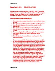 data protection act 1998 essay