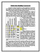 gcse statistics coursework - sampling