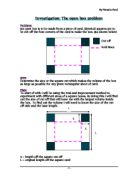 a square investigation essay In geometry, a square is a regular quadrilateral, which means that it has four  equal sides and  a study of definition, information age publishing, 2008, p.