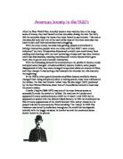 social aspects of the roaring twenties essay