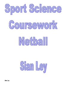 a level p.e coursework netball
