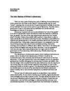 democracy essay 200 words