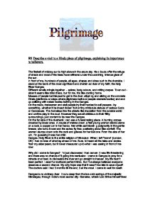 an essay on the importance of hindu pilgrimage Here is your essay on the social significance of pilgrimages  the hindu  pilgrimage affords, for instance, an opportunity to the people living in distant  villages to.