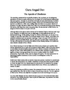 the apostle of obedience essay