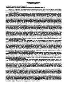 christian feelings and teachings about abortion essay Editor's note: please visit our home page for a full listing of abortion facts  if an  unborn child is a person, abortion is prohibited by the bible  to support this  position, it would be necessary to use text out of context, ignore the bible's  attitude.