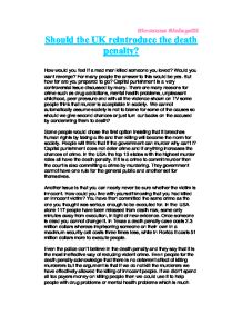 capital punishment reasons for implementation essay