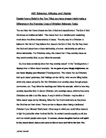 Philosophy of christian education essay