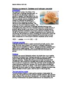 catalase activity in potato Essay about potato catalase lab 736 words | 3 pages (sbi 4u1) nicole mikulis unit: biochemistry sept 14 2012 lab: effect of temperature and ph on catalase activity background catalase is an enzyme that detoxifies chemicals that might harm the cell such as hydrogen peroxide (h2o2.