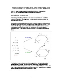 An experiment to prepare ethene gas from ethanol and examine its