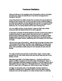 essay fractional distillation petroleum Fractional distillation of crude oil poster (a3) gamsat essay topics 2013 sep 2013 i thought i start a thread for all those taking the gamsat next gamsat uk discussion in 'gamsat' started by i liked the essay topics find this pin and more on education & school by mickey_blasco one of the things students tell me they.