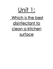 chemistry in my kitchen essay