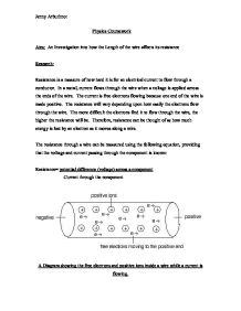 the flow of current through a wire essay Voltage, current, resistance, and ohm's law  through a wire or the voltage of a battery sitting on a table even the lightning in the sky, while  flow = current.