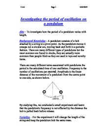 investigating circular motion essay Forces and motion the relationship between forces and motion is counter-intuitive and so needs careful explanation we provide experiments that show a variety of.