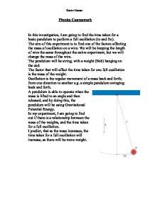 Gcse physics coursework parachute